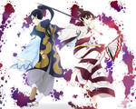 Inuyasha - Byakuya and Kagura