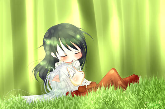 Inuyasha - Nap time