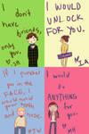 Sherlock Valentine Cards