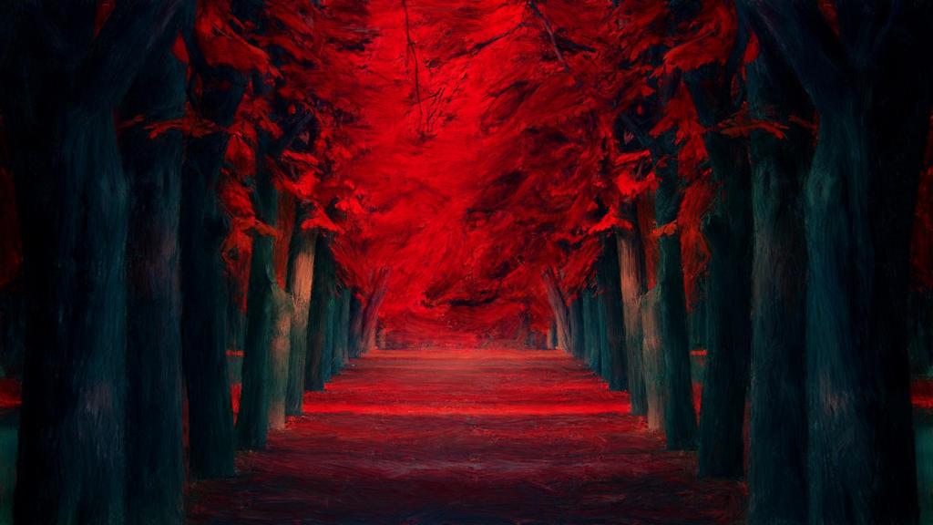[Hi no Machi] Floresta do Fogo Red_trees_pathway_by_venetia5-d77v4a3