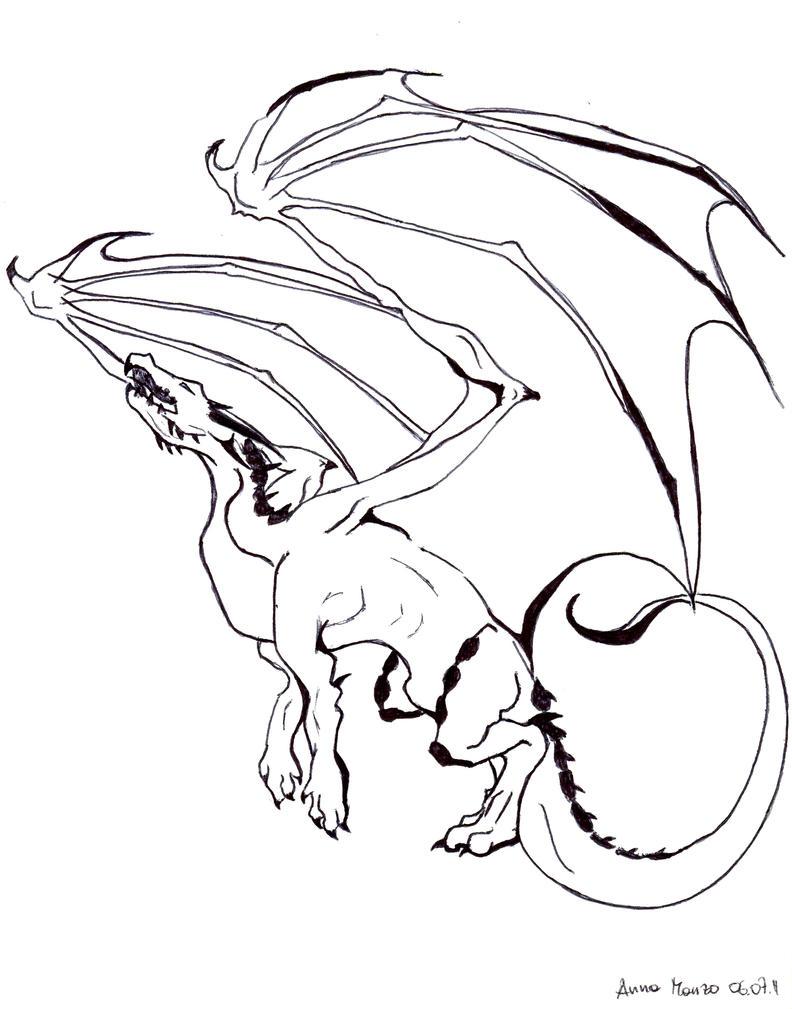 White Dragon by Ikisatashi