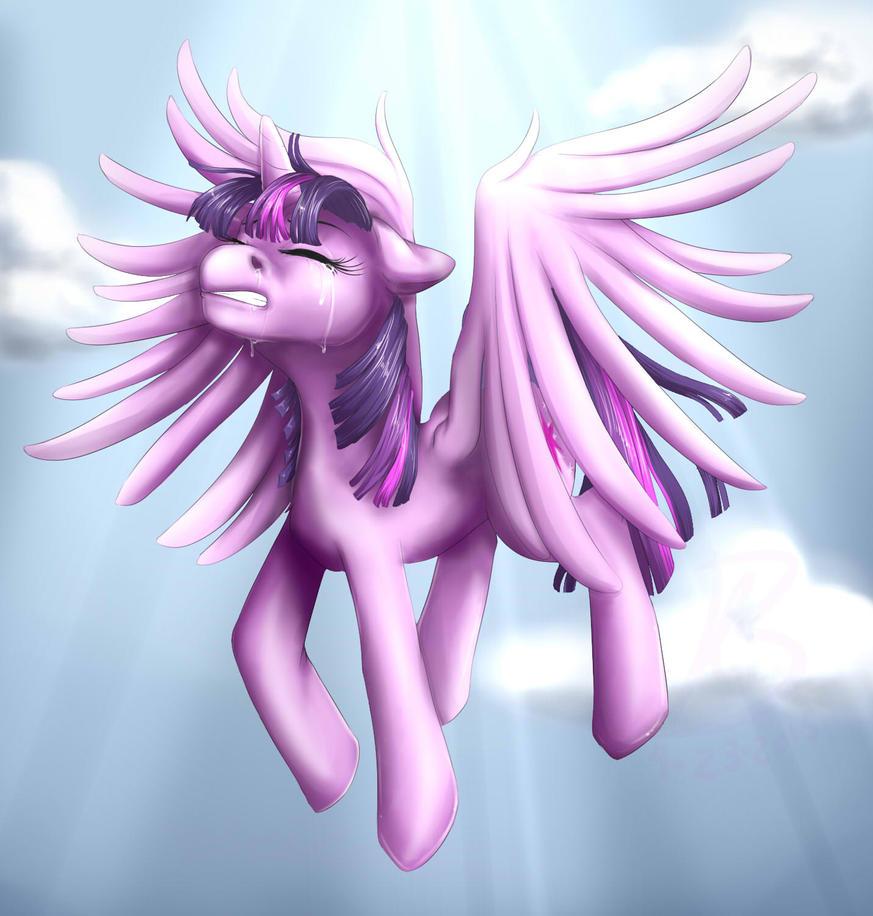 Princess Twilight Sparkle Wants to Fly... by senpaimisskitty