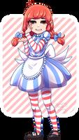Smug Wendys Girl by senpaimisskitty