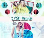 2 PSD HEADER byGizemendie