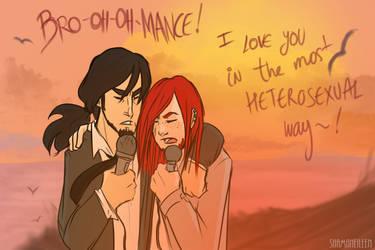 In the most heterosexual way... by ShamsArts