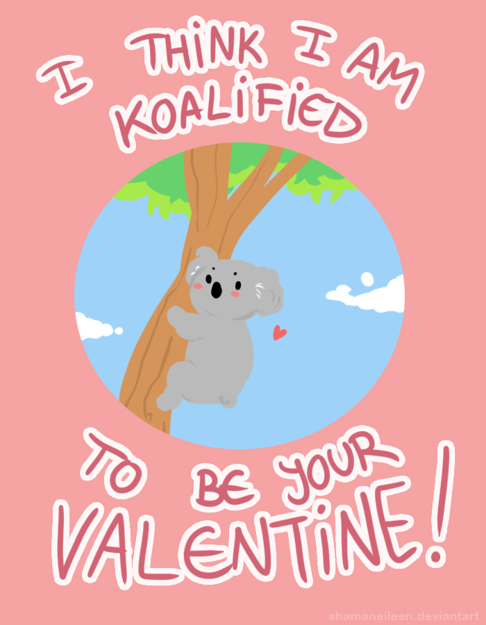 Koalentines Card by ShamanEileen
