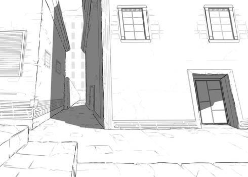 Line Art - Perspective study
