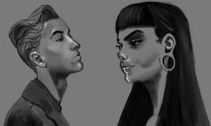 Face Study - Sketch 02