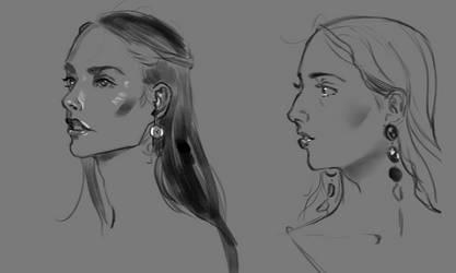 Face Study - Sketch