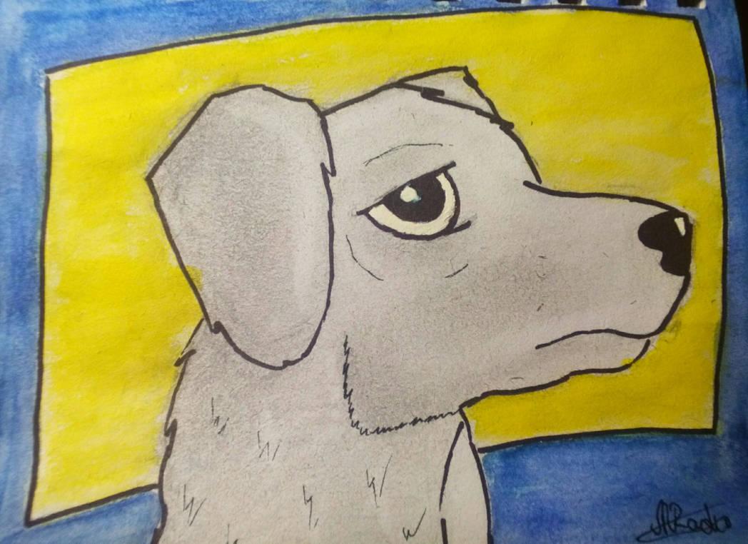 Just a sad dog by Norocosul000 on DeviantArt