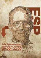 Erik Spiekermann by thierry-eamon