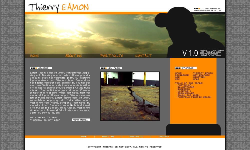 Thierry Eamon Portfolio by thierry-eamon