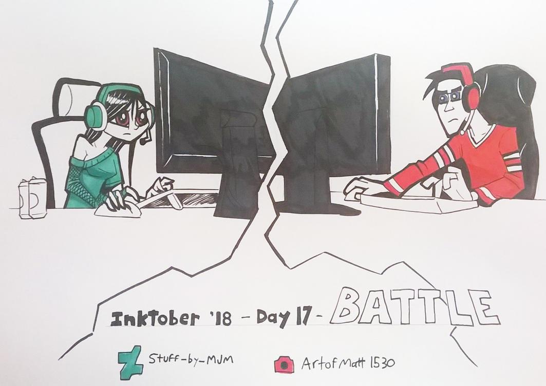 Inktober 2018 Day 17 by STUFF-by-MJM
