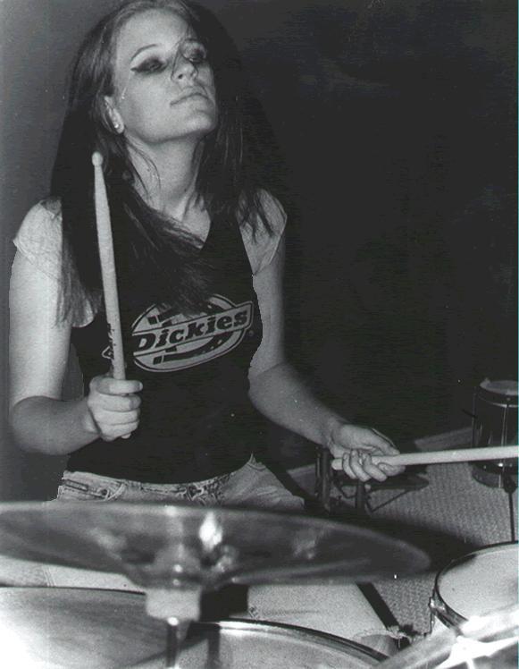 Drummer Girl by volleywood