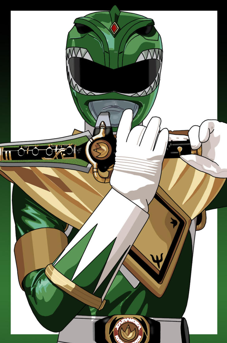 The Green Ranger by BrentJago