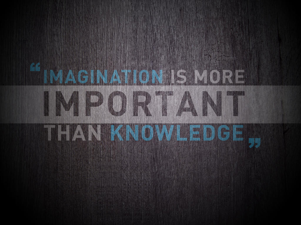 Imagination by t1nus Provoke Your Graphic Design Inspiration In Typography And Text Art