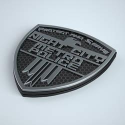NCPD Badge