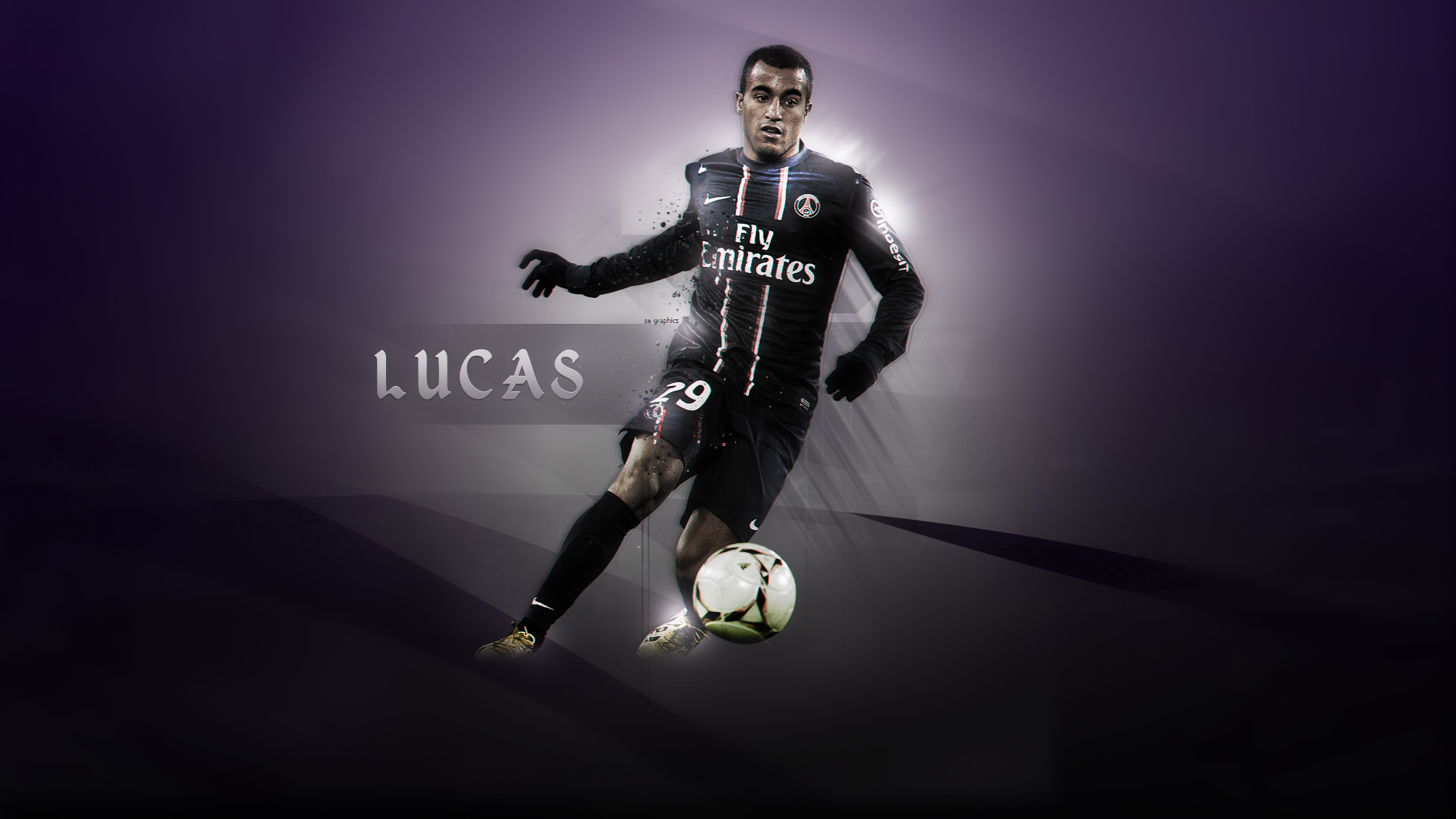 Lucas Moura By Se Graphics
