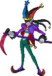 Jokermon Sprite by GoldTamerMan