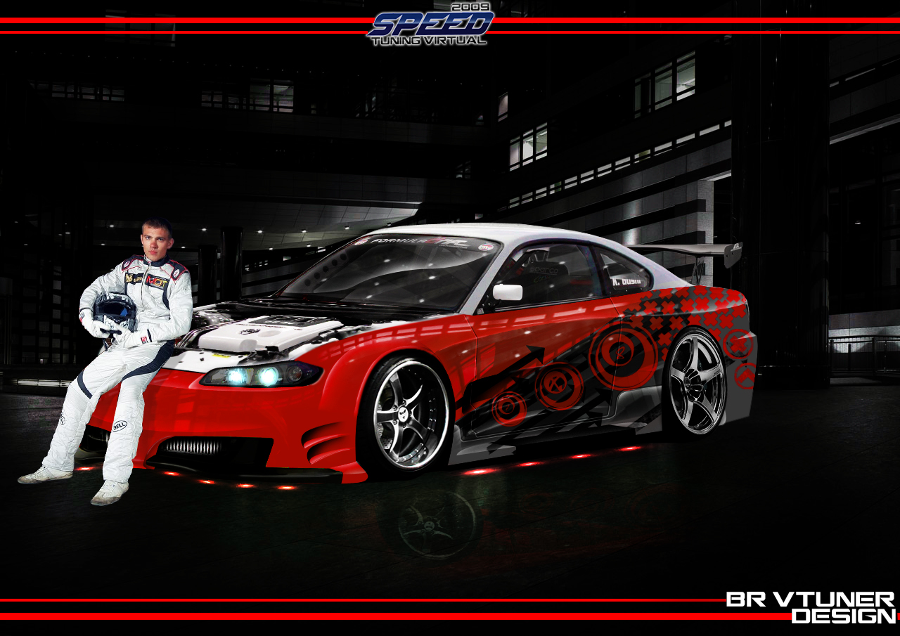 nissan silvia s15 drift by bruno design 2009