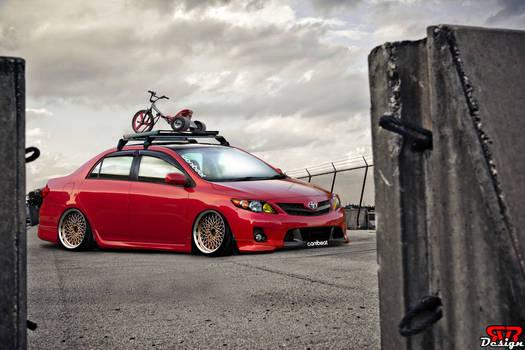 Toyota corolla euro look