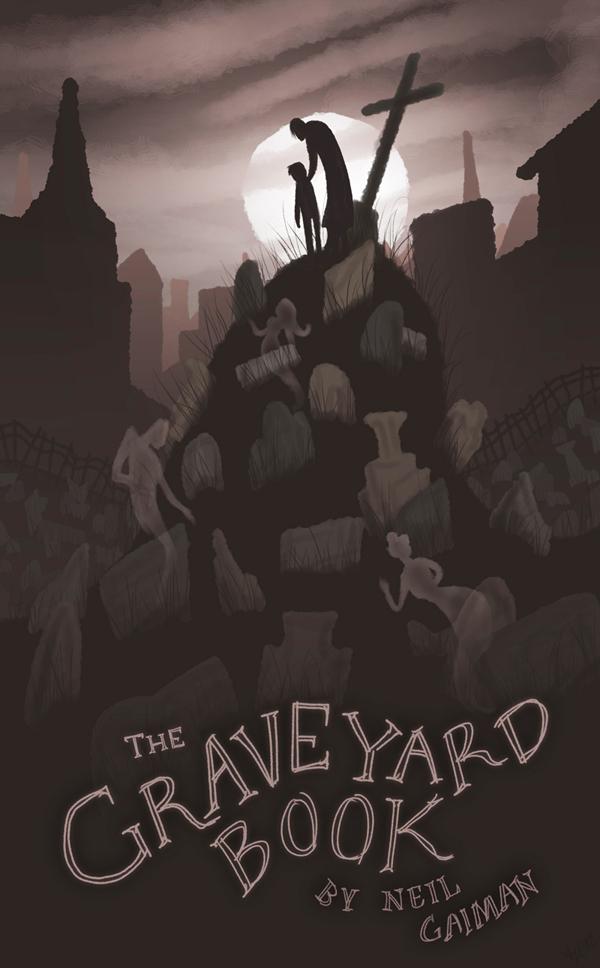 The Graveyard Book Cover Art : The graveyard book fanart by avalensch on deviantart
