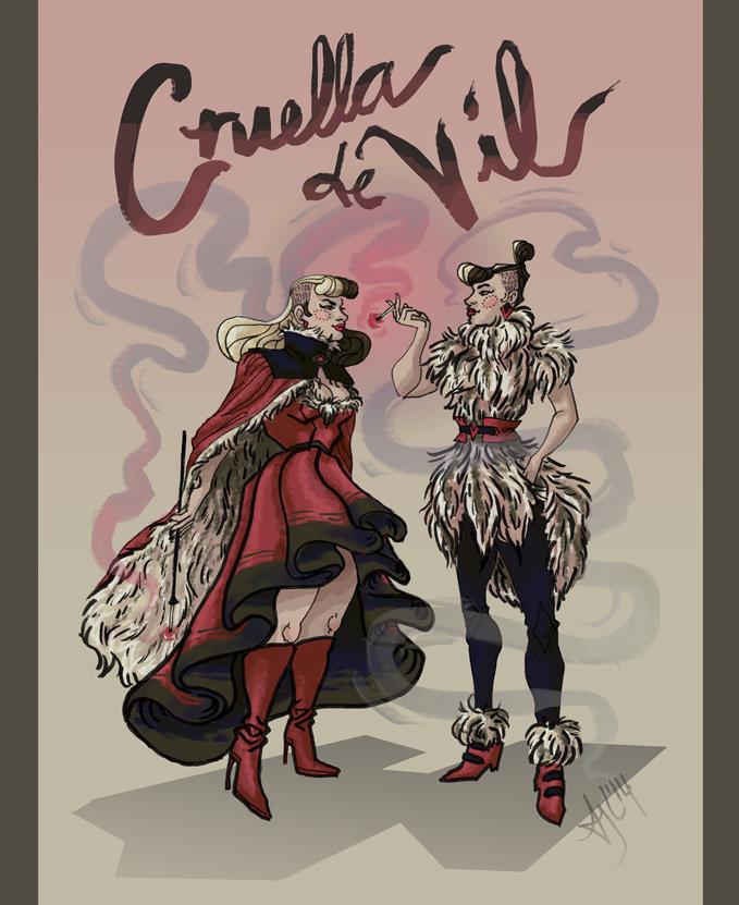 Cruella de Vil by Avalensch