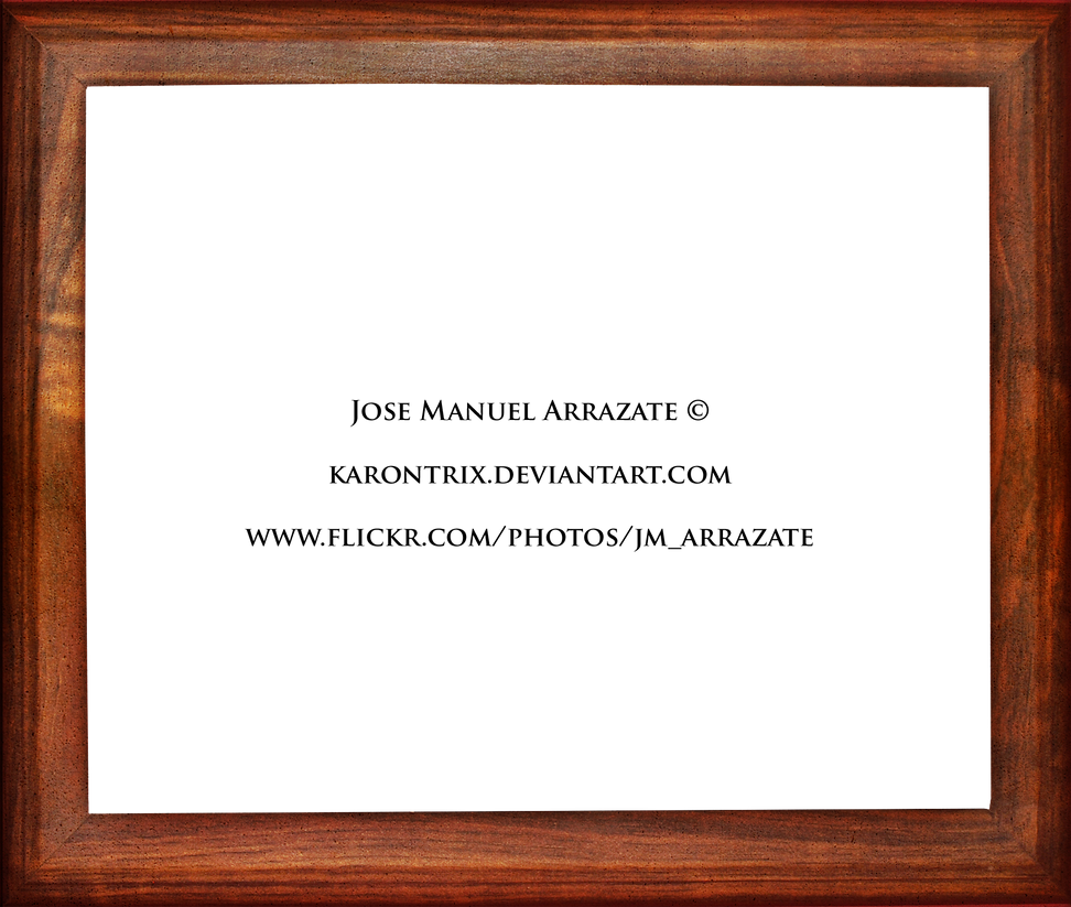 Wooden Frame Design : Wooden frame by Karontrix on DeviantArt