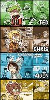 Kid n' Teenagers Character Backgrounds