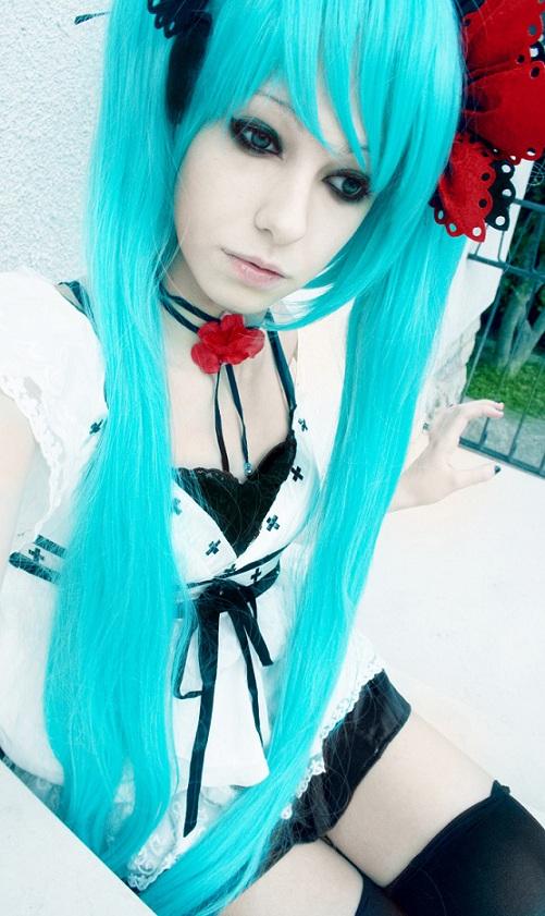 hatsune miku cosplay - photo #25