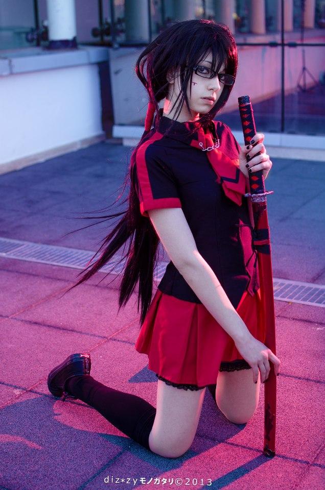 Cosplay: Saya Kisaragi (Blood-C) by IchikoXares
