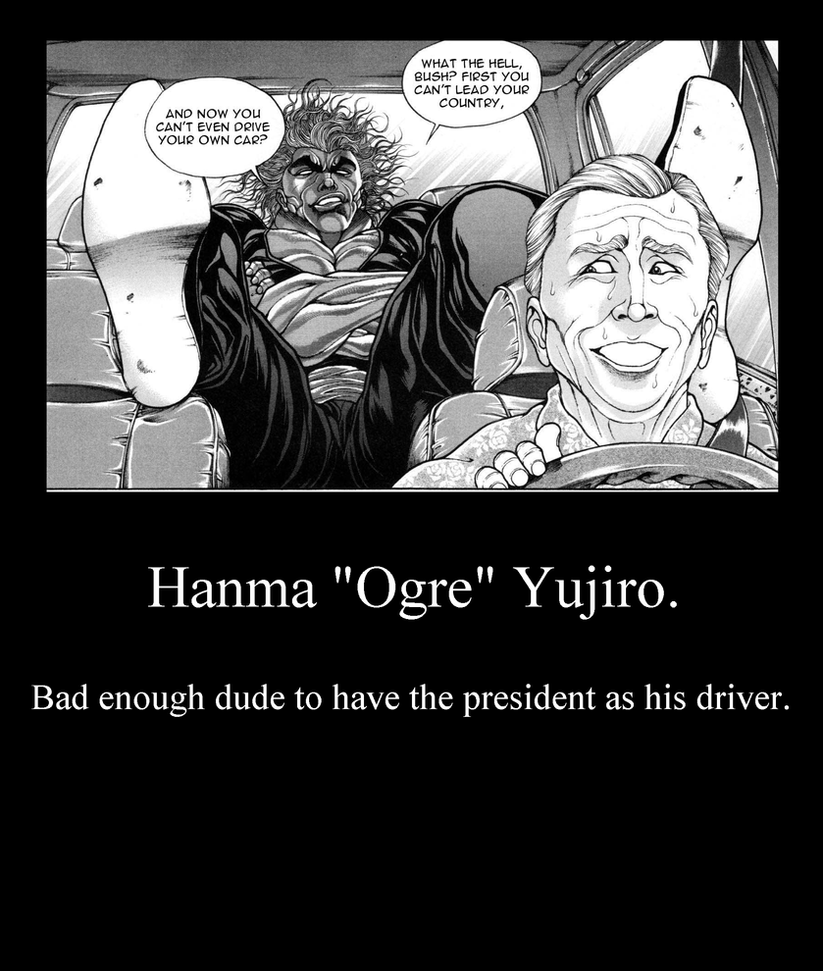 Hanma Yujiro. By Kalduin On DeviantArt