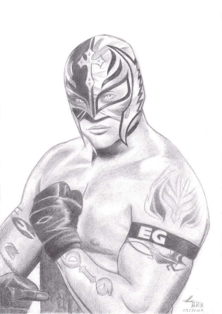 Rey Mysterio by cai-hong on DeviantArt