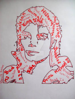 Michael Jackson pop art..