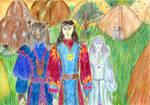Arai Lord Aerquin gi Tassar and his winter sister