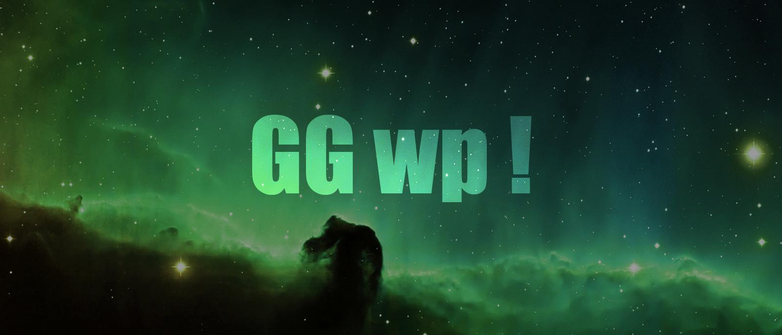 Что обозначает gg wp в кс го cs go shop random