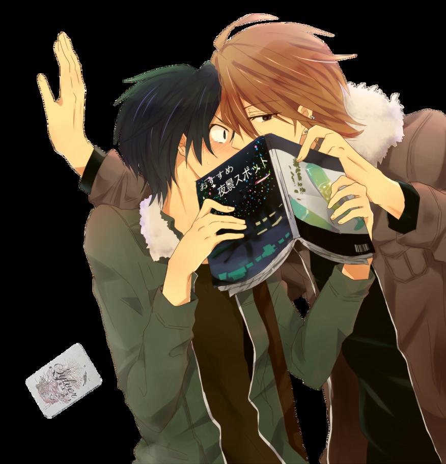 Renders Yaoi (22) et Yuri (14). Render__yaoi__by_mikeiry-d7cb5vk