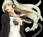 Render: Headphone Girl