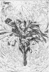 Batman Cover by PatLeeArt