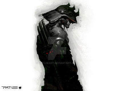 Samurai Me by PatLeeArt