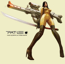 Concept Design Girl by PatLeeArt