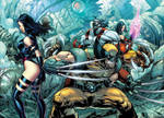 X Men Cyberforce Cross Over