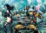 X Men Cyberforce Cross Over