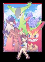 Pokemon random team by KasnovA
