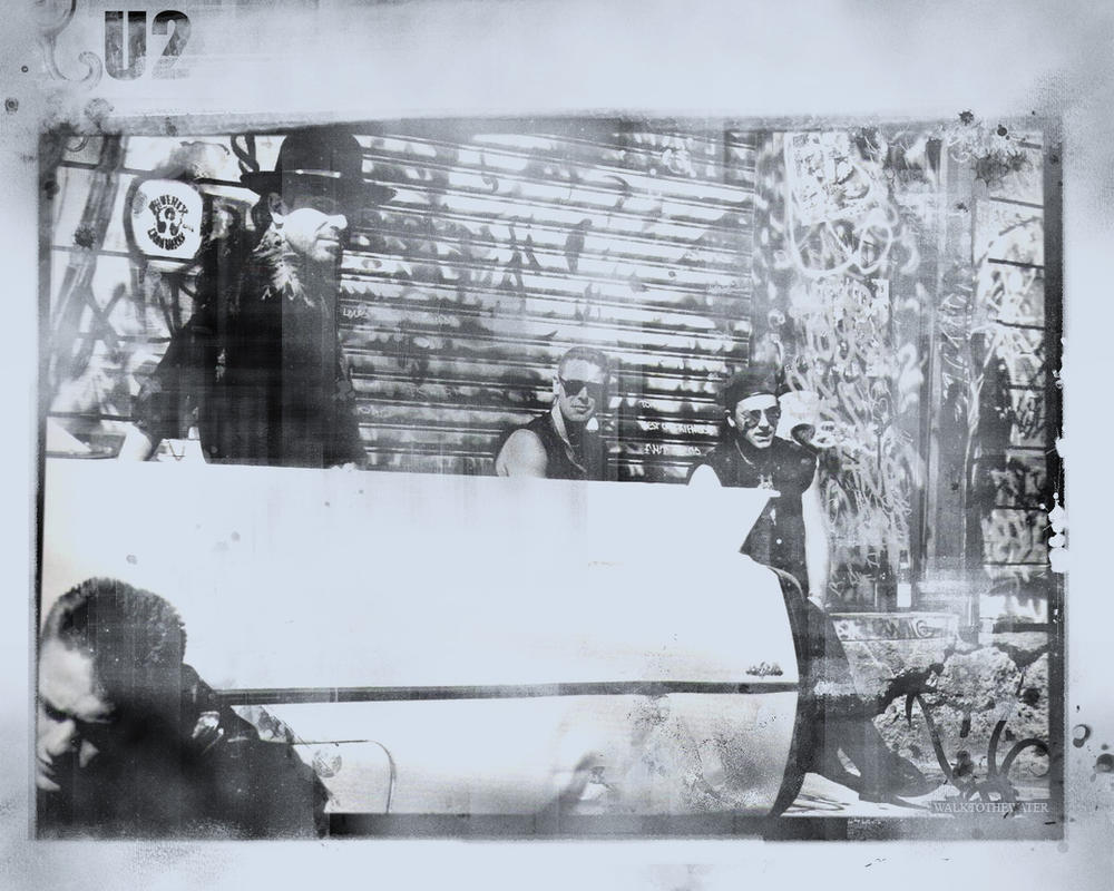 U2 Wallpaper - Joshua Tree Era by walktothewater