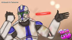 Star Wars Ambush In Tatooine