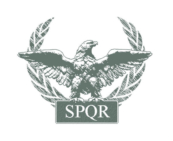 Roman Eagle SPQR by ~crazyYoda on deviantART