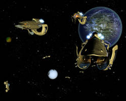 Protoss Battle Group 2 by crazyYoda