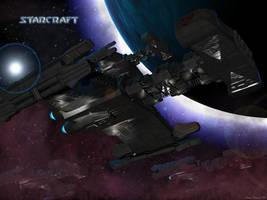 Terran Battlecruiser Wallpaper by crazyYoda