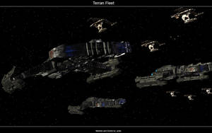 Terran Fleet by crazyYoda